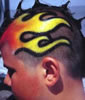 Head art airbrush art